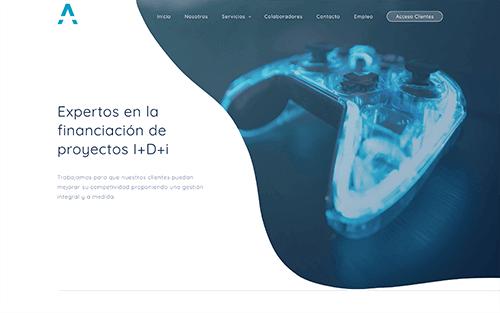 Captura de pantalla de Aliot innovación