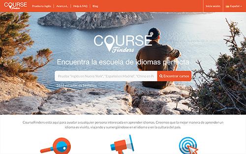 Captura de pantalla de Course Finders