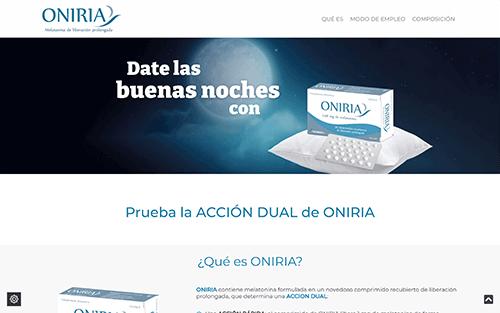 Captura de pantalla de Oniria Buenas Noches