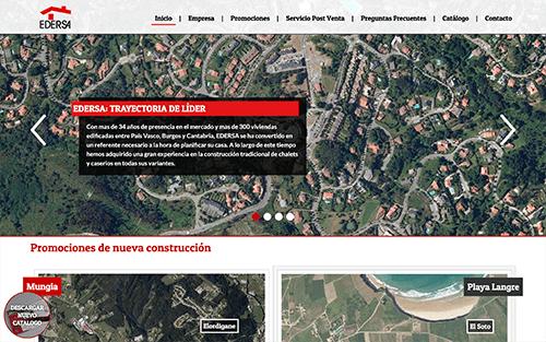 Captura de pantalla de Casas Edersa