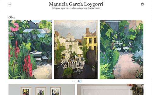 Captura de pantalla de Manuela Garcia Loygorri