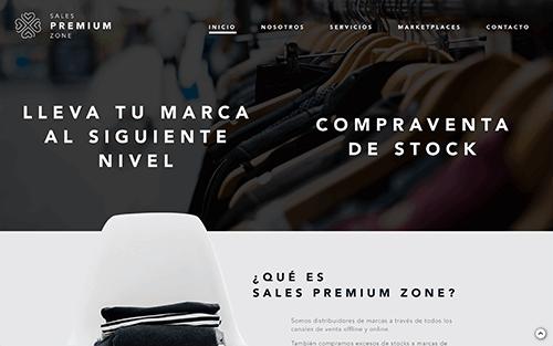 Captura de pantalla de Sales premium Zone