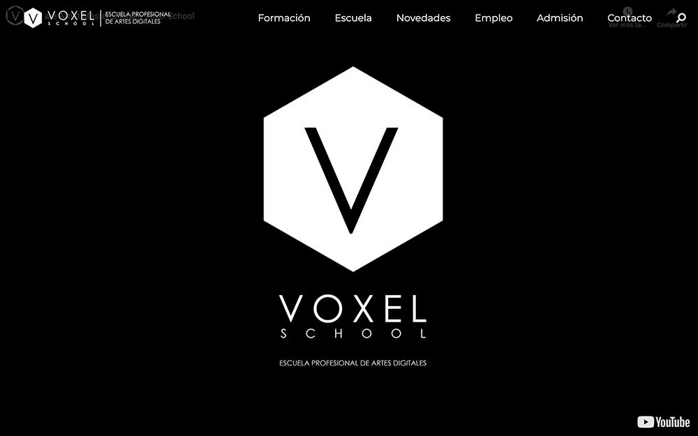 Captura de pantalla de Voxel School